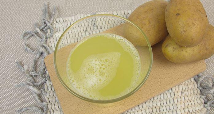 jugo de patata