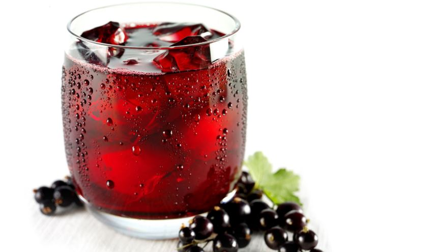zumo de grosella propiedades