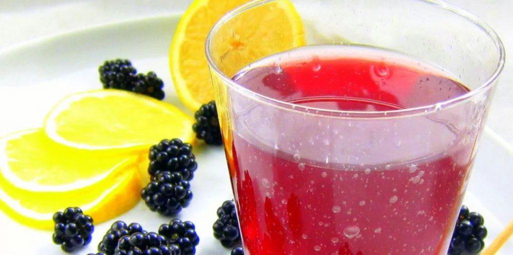 zumo de moras
