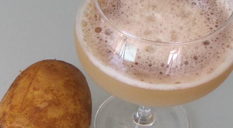 zumo de patata