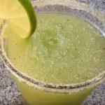 batido de limon y menta