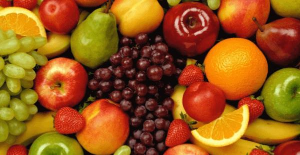 Zumos naturales de frutas