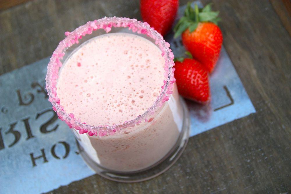 receta smoothie de fresa