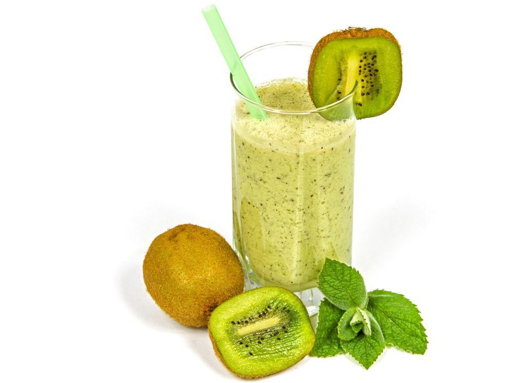 receta smoothie de kiwi